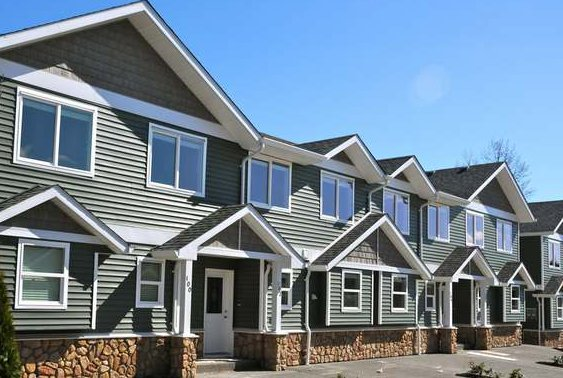 Diamond Park New Comox Valley Town homes