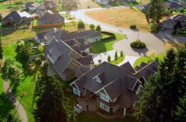 Aerial View of Crown Isle Homes
