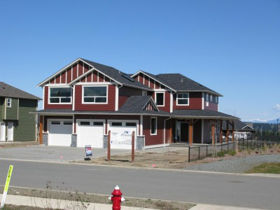 Custom built home by Lawmar Construction in Courtenay on Vancouver Island
