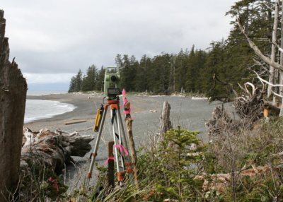 Surveying Vancouver island