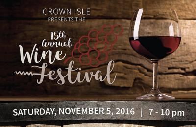 Crown isle wine fest