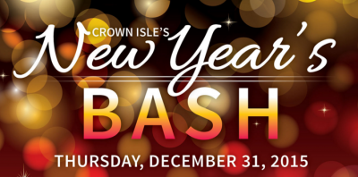 New years eve 2015 at Crown Isle