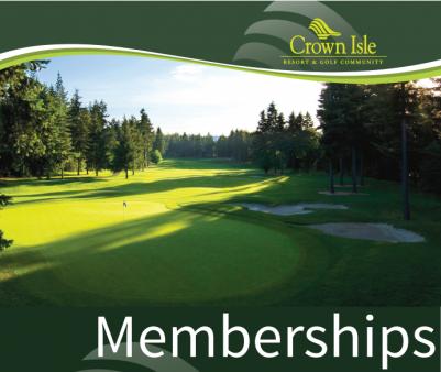 Memberships at Crown Isle