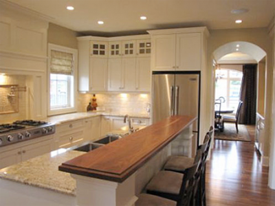 Custom kitchens and millwork in Courtenay, BC