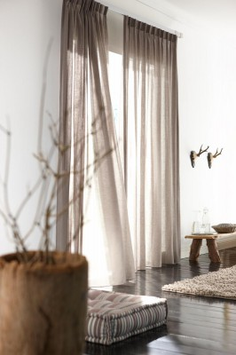 Drapes from Budget Blinds