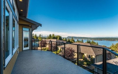 Ocean Views from New Luxury Patio Home in Ladysmith