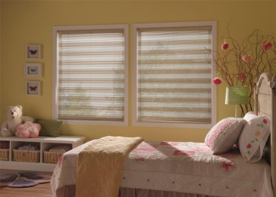Cordless Blinds and Shades from Budget Blinds are Smart Choices for Kids Rooms