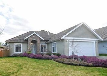 Crown Isle offers many opportunities to downsize, like this 1,600 sq. ft. rancher