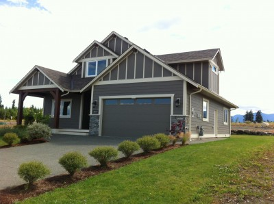 Building lots for custom homes for sale at The Ridge in Courtenay