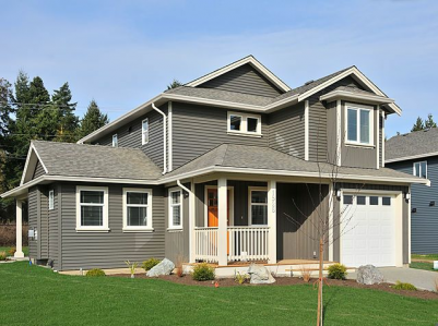 New family Homes in Park Place Cowichan Bay