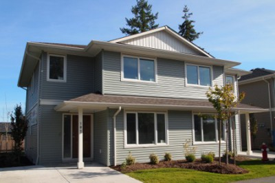 New Courtenay townhomes