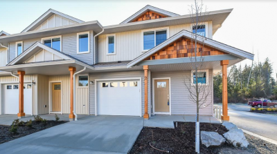 Courtenay new townhomes for sale