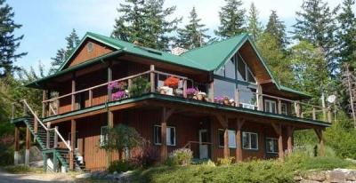Quadra Island custom home for sale