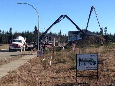 The Ridge new Comox Valley homes