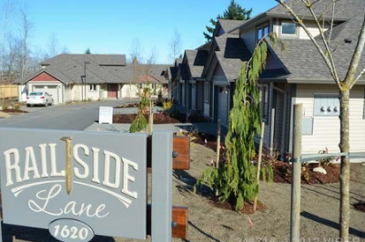 Railside Lane Courtenay patio homes