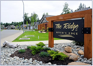 RiversEdge is a pre-planned residential development in the Comox Valley