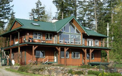 Ocean view Home for Sale Quadra Island
