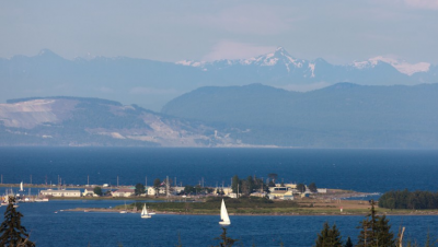 Courtenay ocean view lots for sale