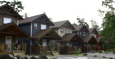 Ucluelet cottages