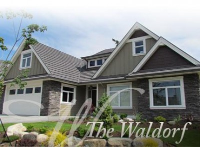 The Waldorf is one example of a home built by Homes by Crown Isle